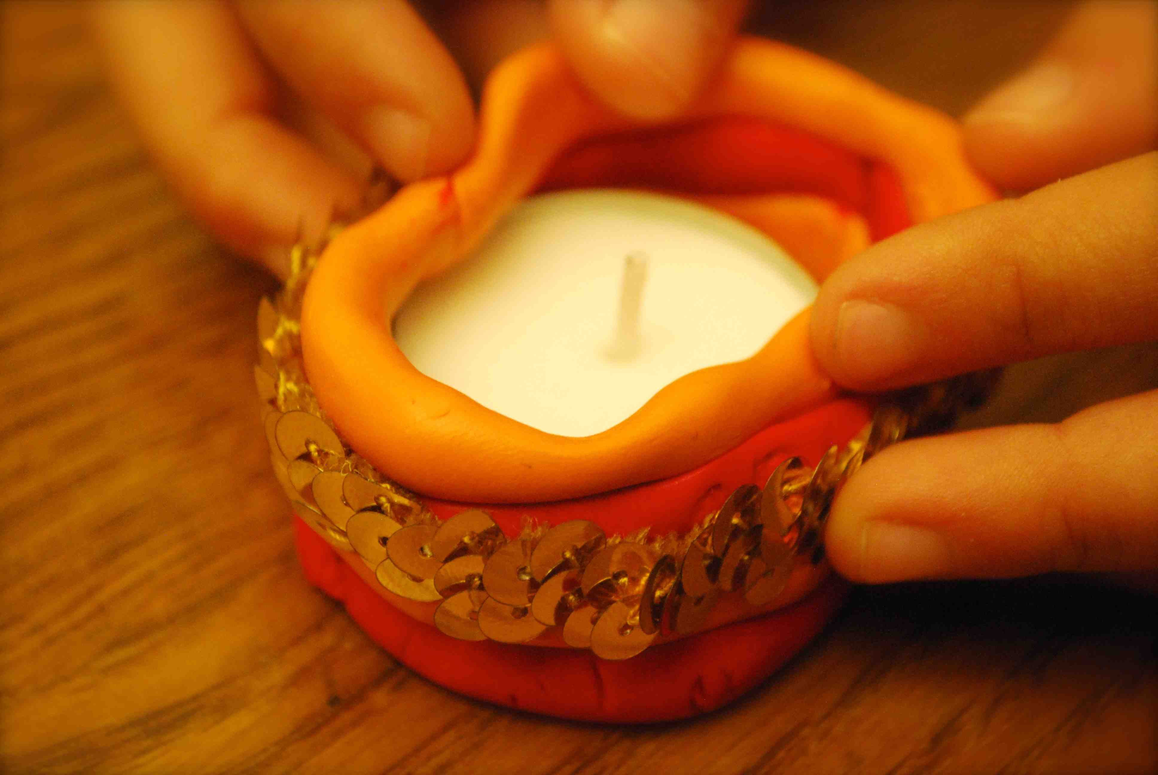 Make A Quot Diya Quot For Diwali Crafts Diwali Craft Diwali