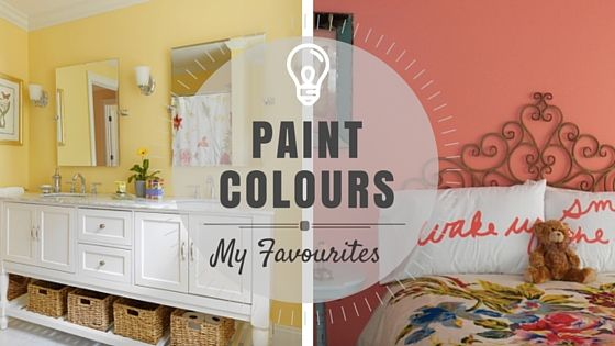 COLOR SPOTLIGHT - Some Of My Favourite Paint Colours