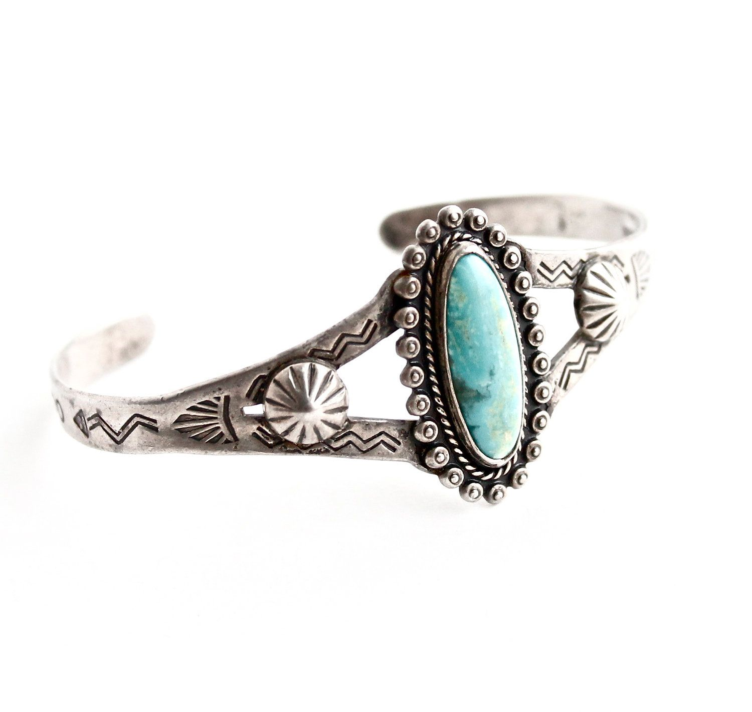 Small turquoise cuff