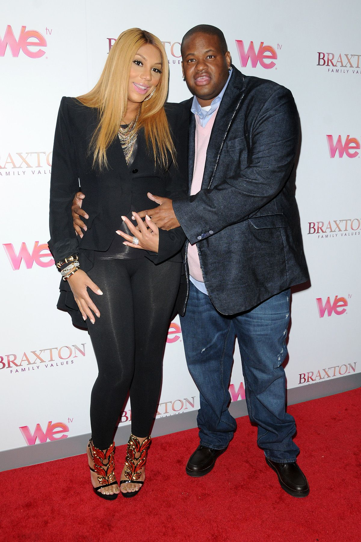 Tamar Braxton Vince Herbert Welcome Baby Boy Things I