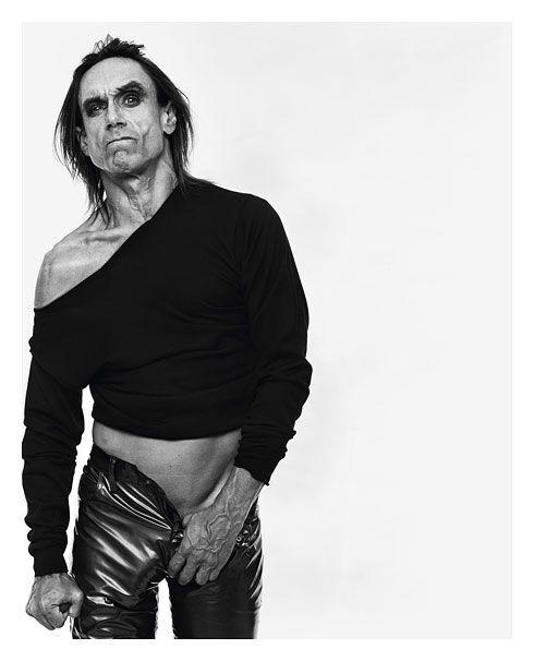 Michel Comte, Iggy Pop, L'Uomo Vogue, 1997