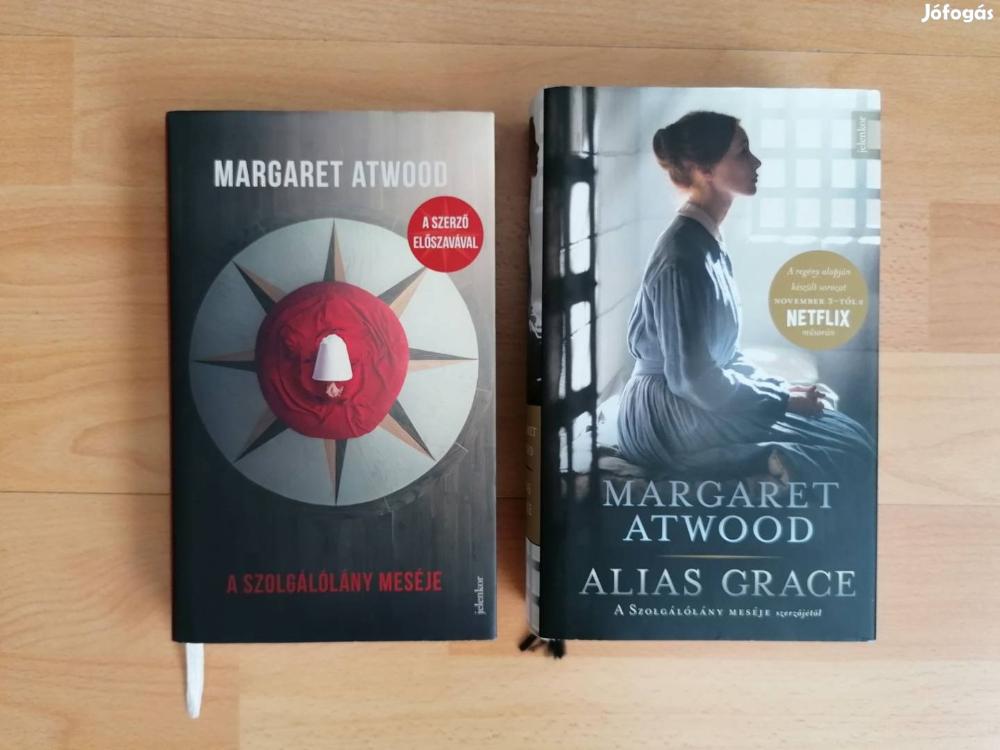 A szolgálólány meséje + Alias Grace - 2db Margaret Atwood köny eladó - XIII. kerület, Budapest #margaretatwood