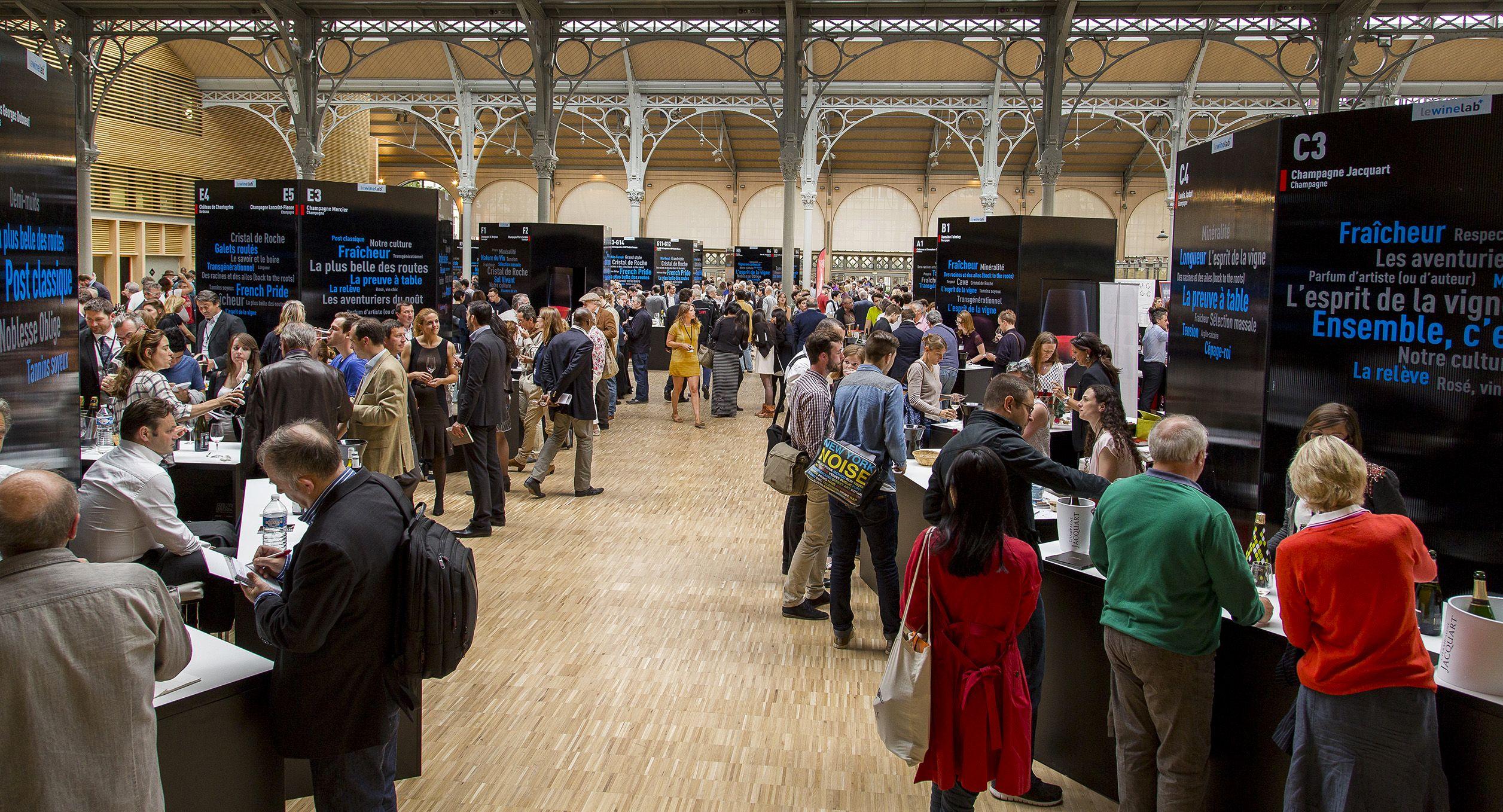 Salon du vin 2014 cloisons d 39 exposition expos pinterest for Salon du vin nancy
