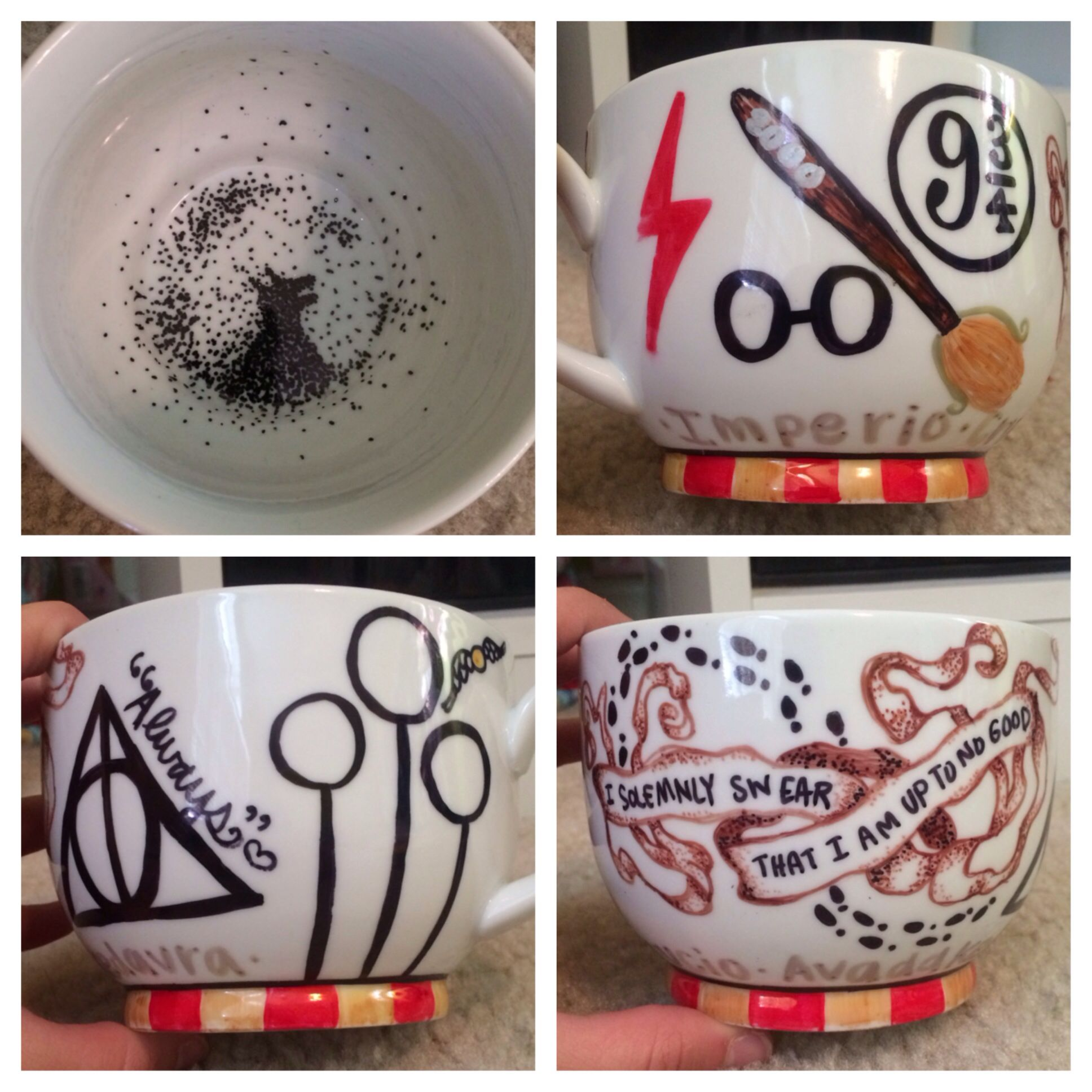 b40aa6cab63dfc Harry potter sharpie mug done for a graduation gift i wonder how many  people would buy