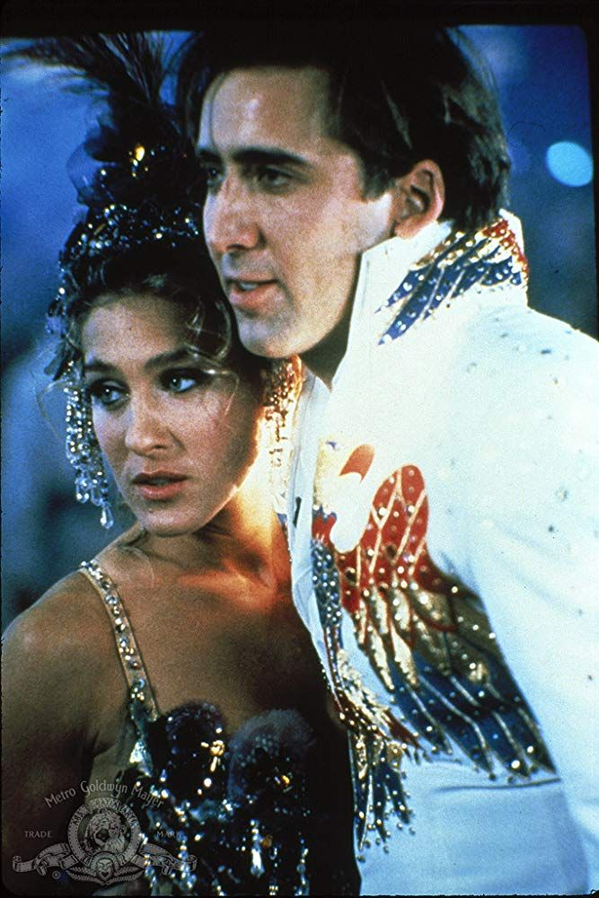 Nicolas Cage And Sarah Jessica Parker In Honeymoon In