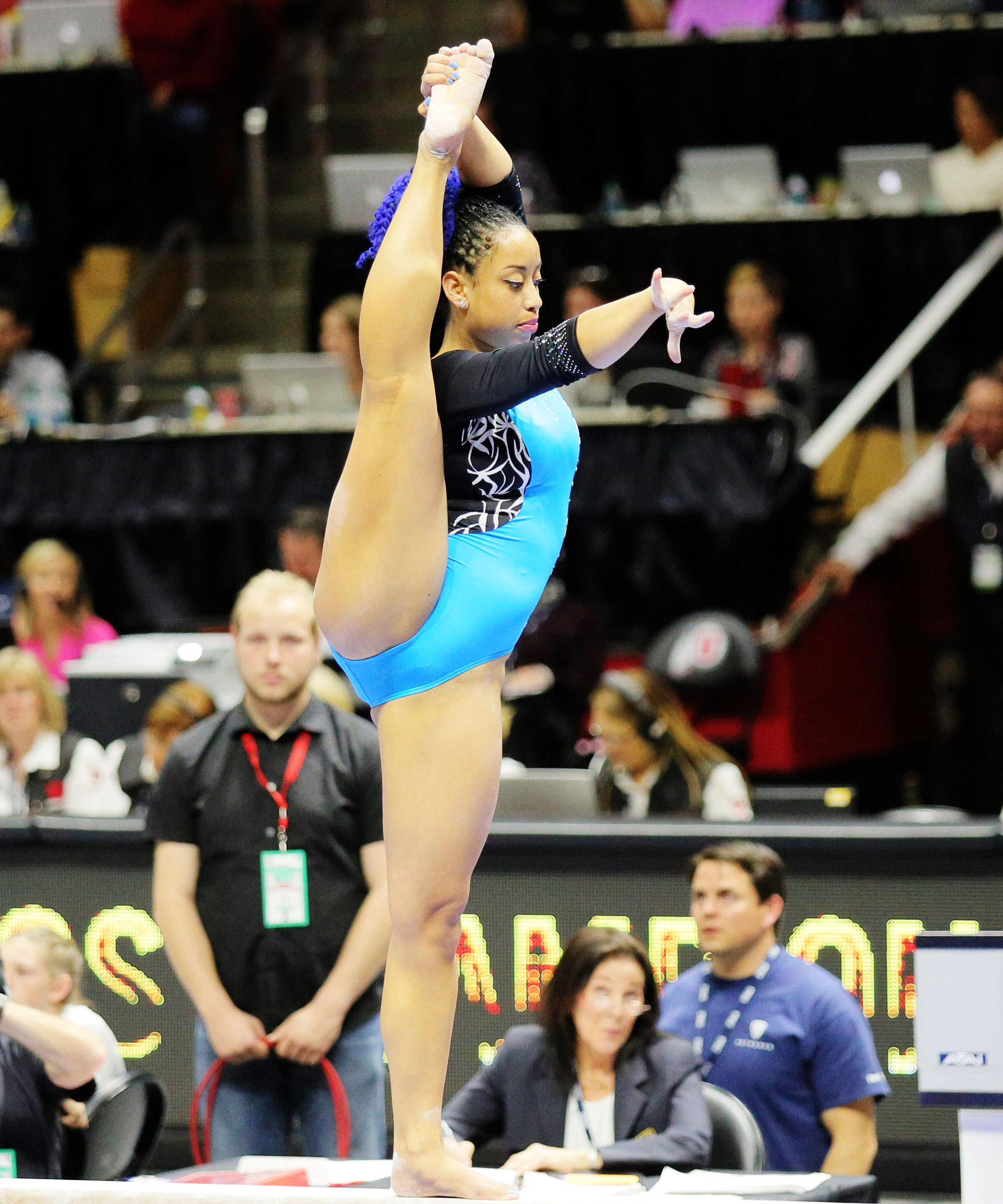 Sophina DeJesus UCLA Flawless Floor Routine | Sophina DeJesus Didnu0027t Just  Nail A Nearly