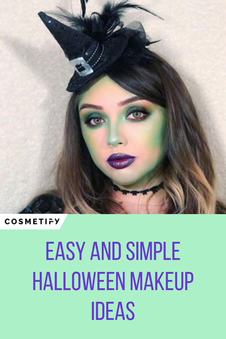 Easy Halloween Makeup Halloween makeup easy, Halloween