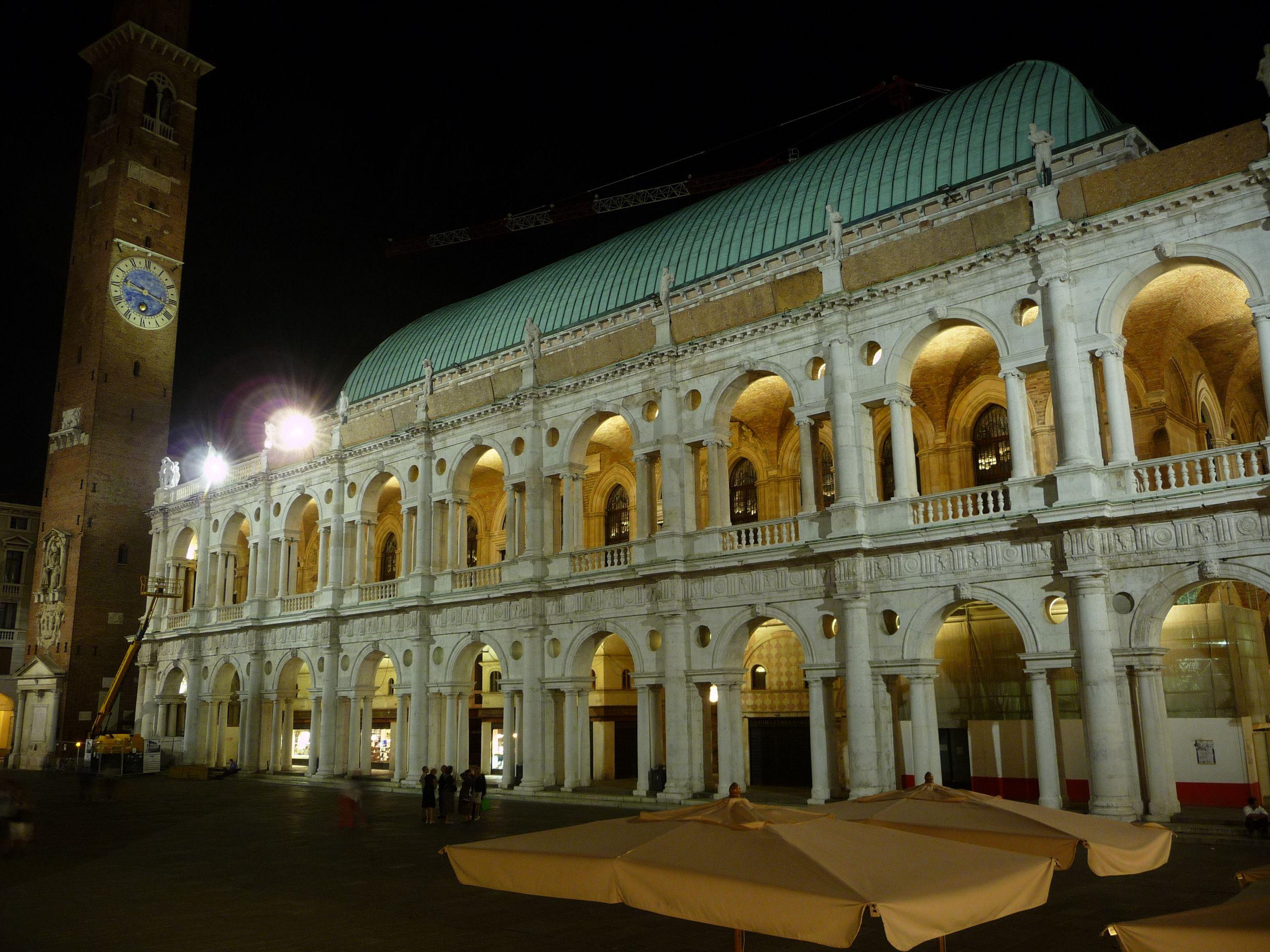 La Basilica Palladiana, valorizzata dal nuovo sistema di