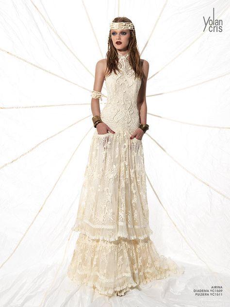 Vestido Den Ovia Crochet