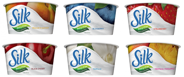 My Favorite Vegan Yogurt And Least Expensive Silk Non Dairy Yogurt Dairyfree Vegan Available At Many Grocery Store Silk Yogurt Milk Packaging Vegan Yogurt