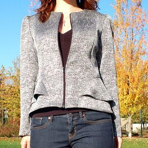 Image of 1205 Cordova Jacket {princess seamed jacket}