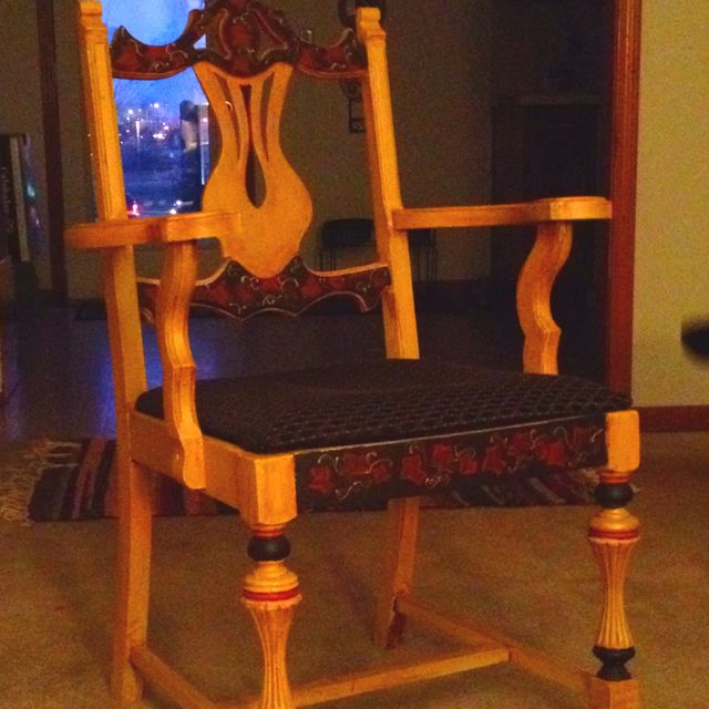 Would like to do something neat with this chair...
