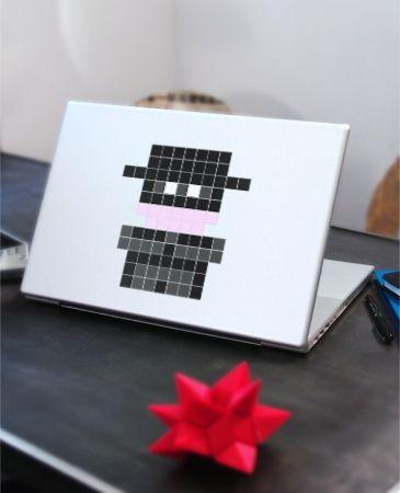 Stickaz :: Mr Masque Noir - Stickers Muraux