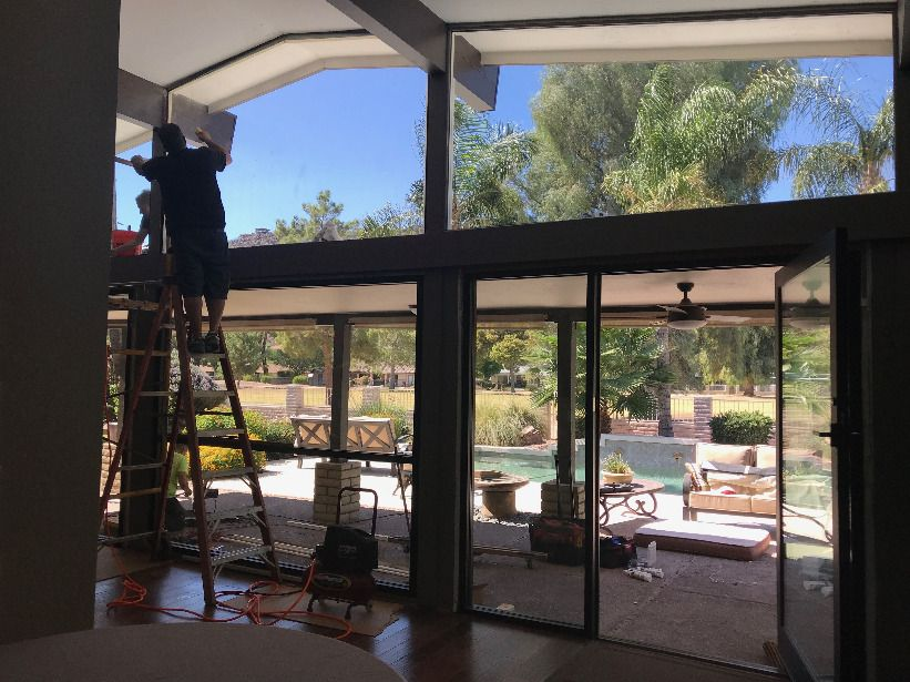Custom Windows Plus Is A Family Owned And Operated Business That Has Been Around For Many Years All Vinyl Replacement Windows Windows Patio Door Installation