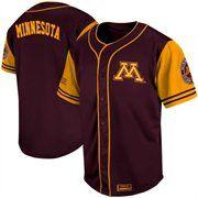 cheap for discount 3f5a4 92914 Minnesota Golden Gophers Rally Baseball Jersey - Maroon ...