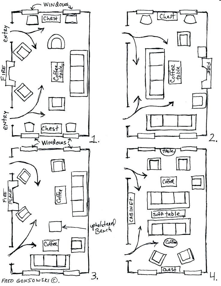 12x20 Living Room Layout 20 X 12 Living Room Arrangements
