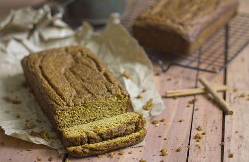 Pumpkin Bread (Paleo, Grain Free, Gluten Free)  click here for...