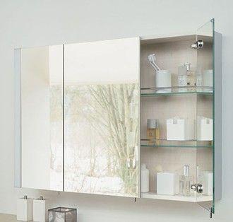 Bathroom Mirror Cabinet With Images Bathroom Mirror Cabinet