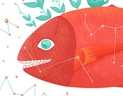 """Check out new work on my @Behance portfolio: """"The Little Red Fish"""" http://be.net/gallery/53762247/The-Little-Red-Fish"""