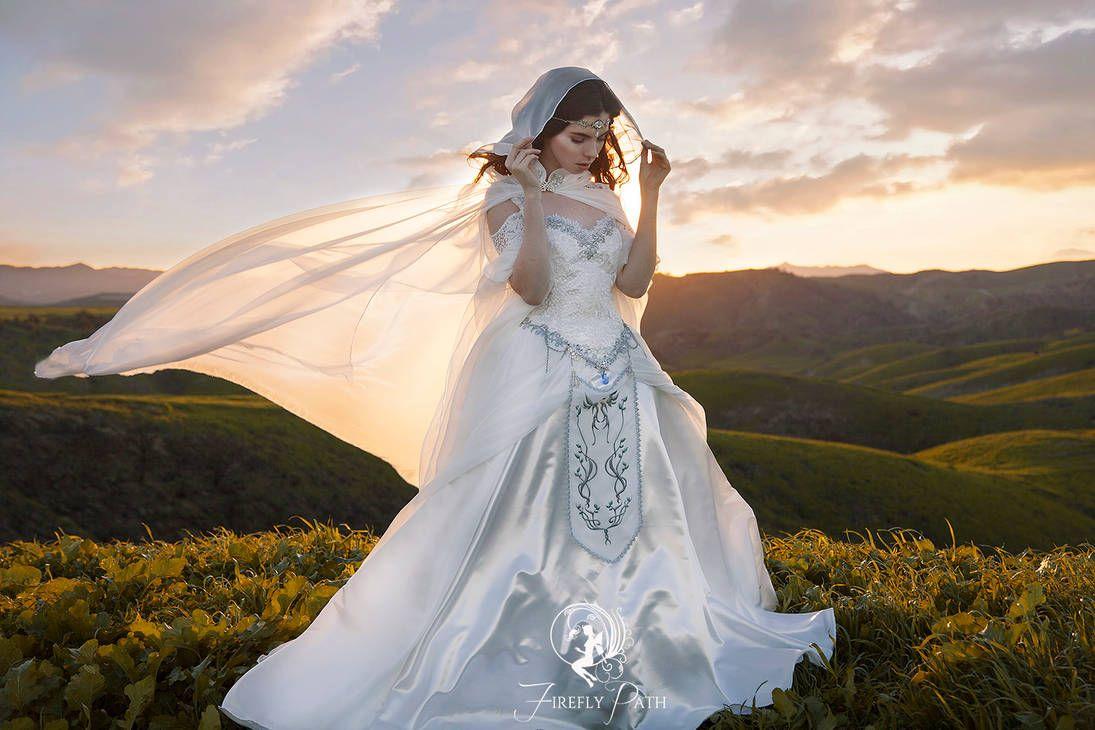 Windy Day In Hyrule By Firefly Path Wedding Dresses Zelda Wedding Wedding Gowns