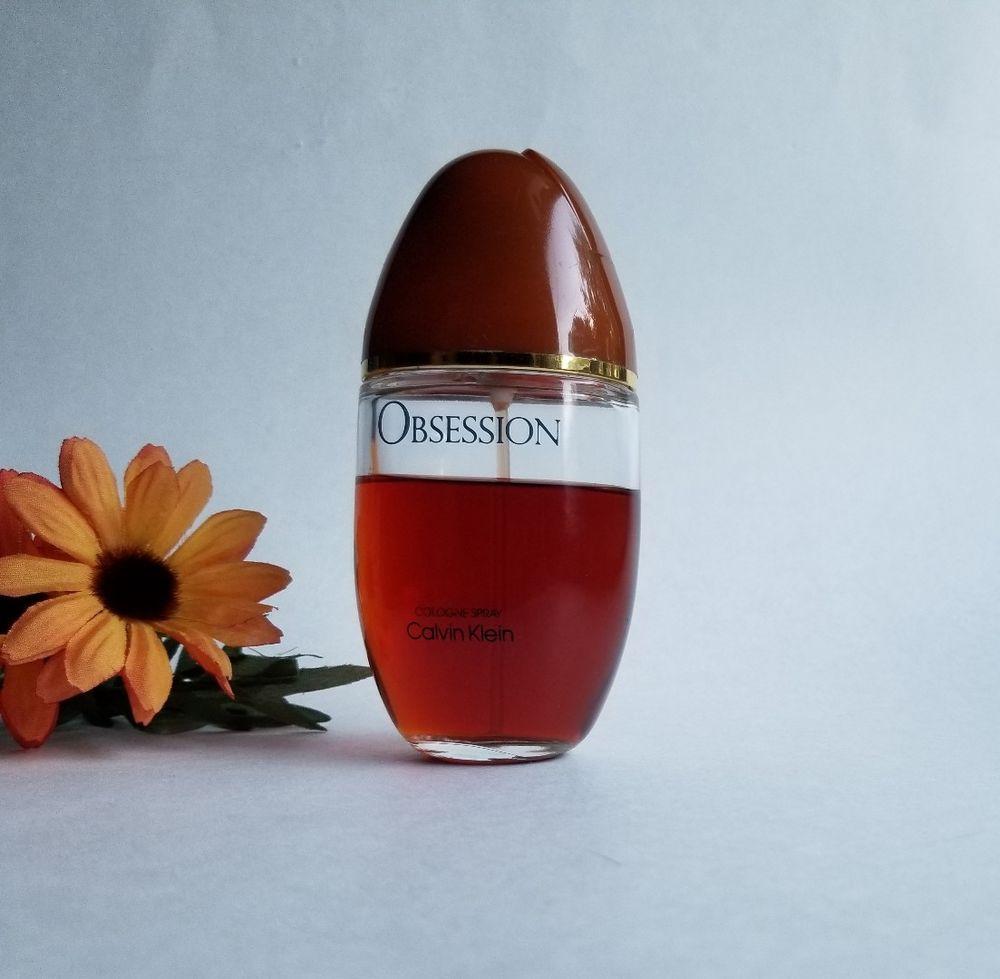 Vintage Obsession By Calvin Klein Eau De Cologne Spray 3 4 Fl Oz Calvinklein Perfume Cologne Rose Wine Bottle After Shave