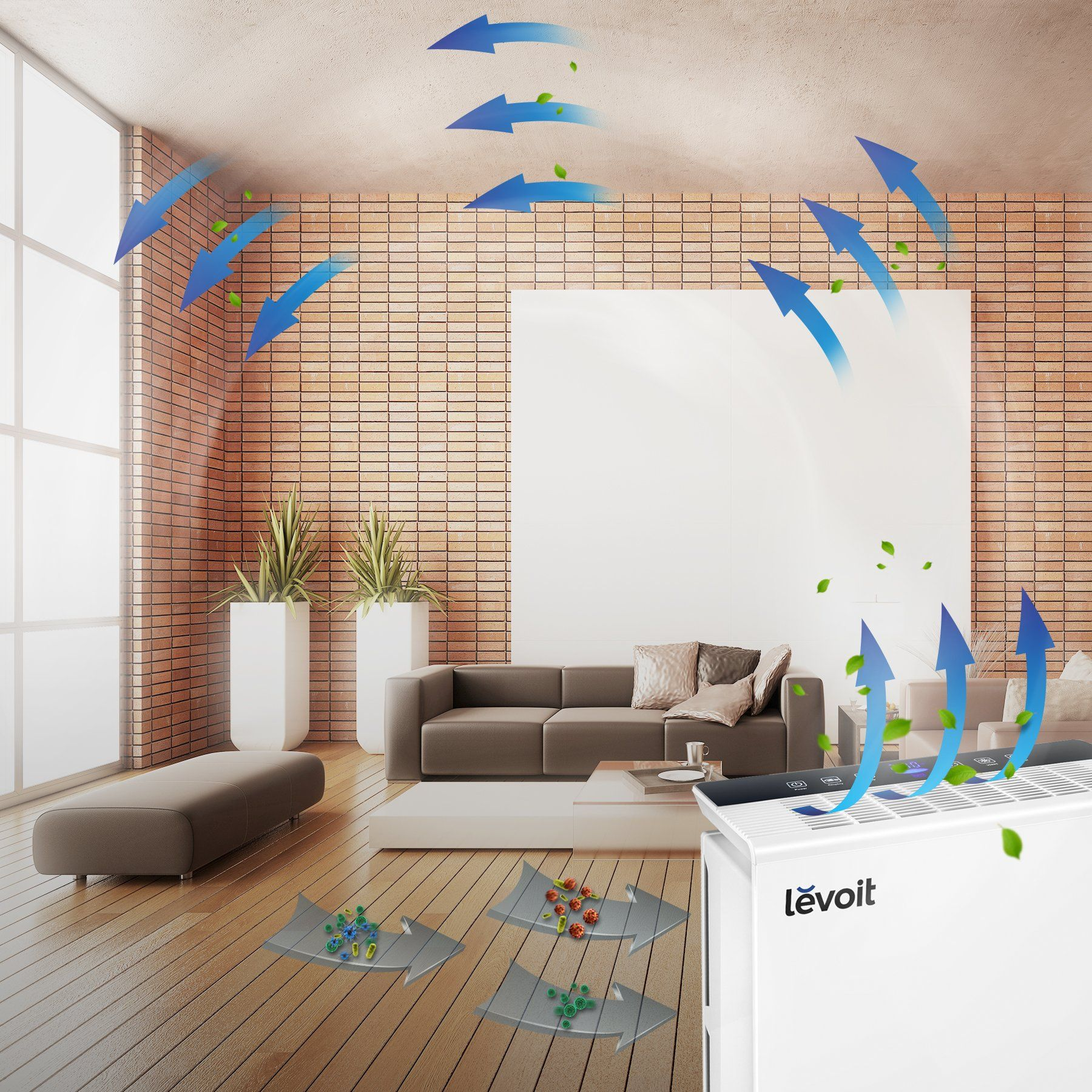 LEVOIT LVPUR131 Air Purifier with True HEPA Filter Odor