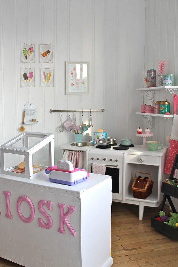 Minikiosk Kiosk barnrum Pinterest Rincón de juegos, Casa