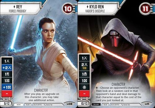 Star Wars Destiny Game Card Design Star Wars Destiny