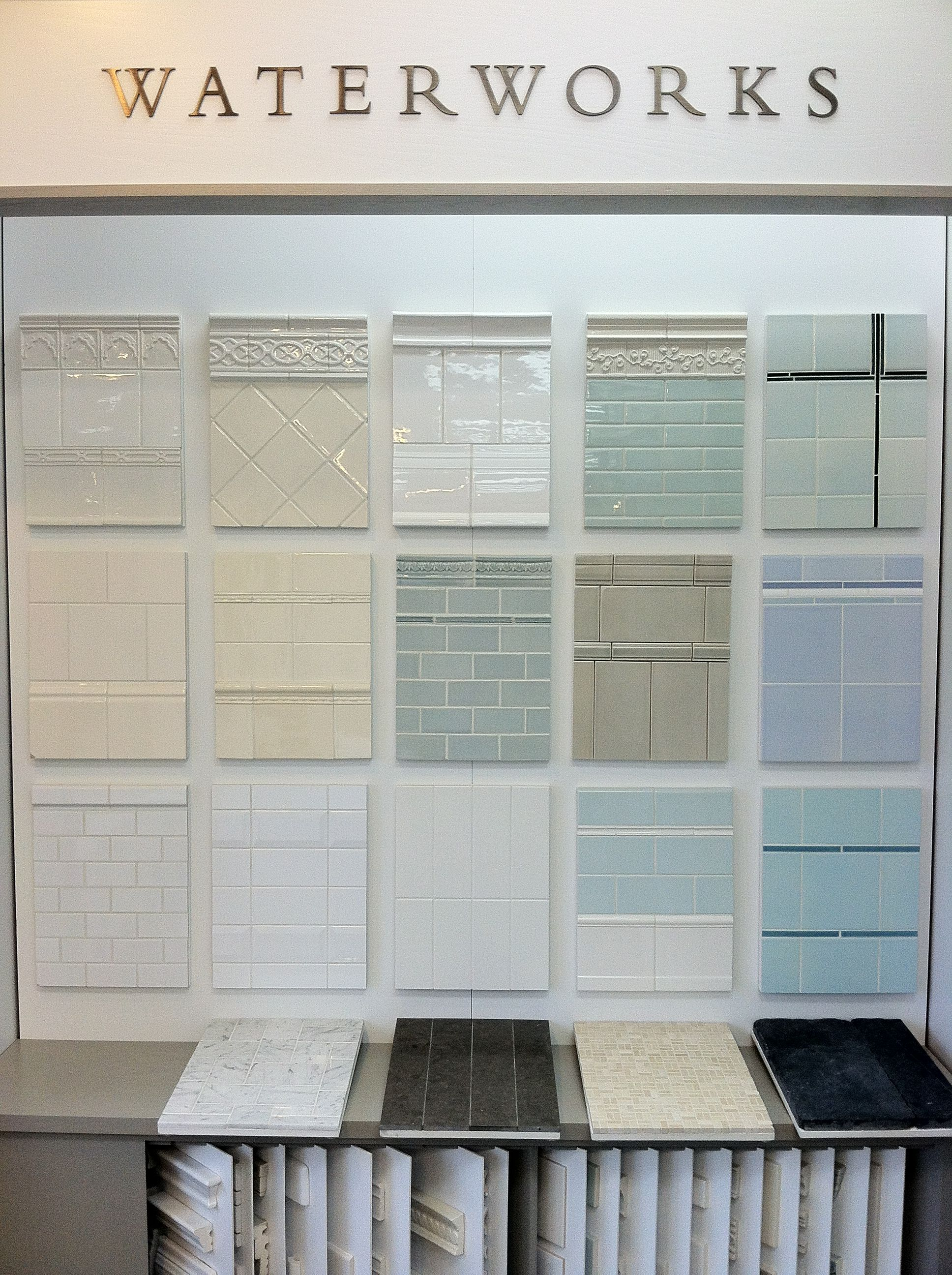 Our gorgeous tile from waterworks waterworks pinterest our gorgeous tile from waterworks dailygadgetfo Image collections