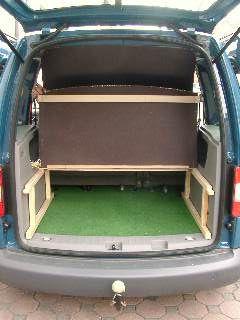 alles hochgeklappt anleitung caddy camper pinterest camper van camping und diy camper. Black Bedroom Furniture Sets. Home Design Ideas