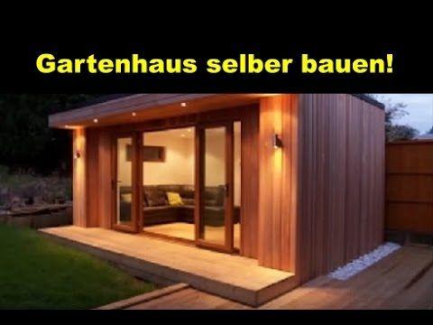 Gartenhaus selber bauen aus Holz / Holzhütte aufbauen   Ideen für