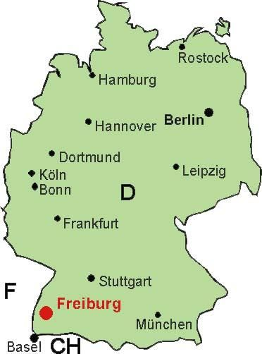 Freiburg One of my favorite paces to be in Germany is Freiburg in