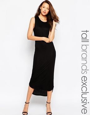 TTYA Midi Sleeveless Tshirt Dress