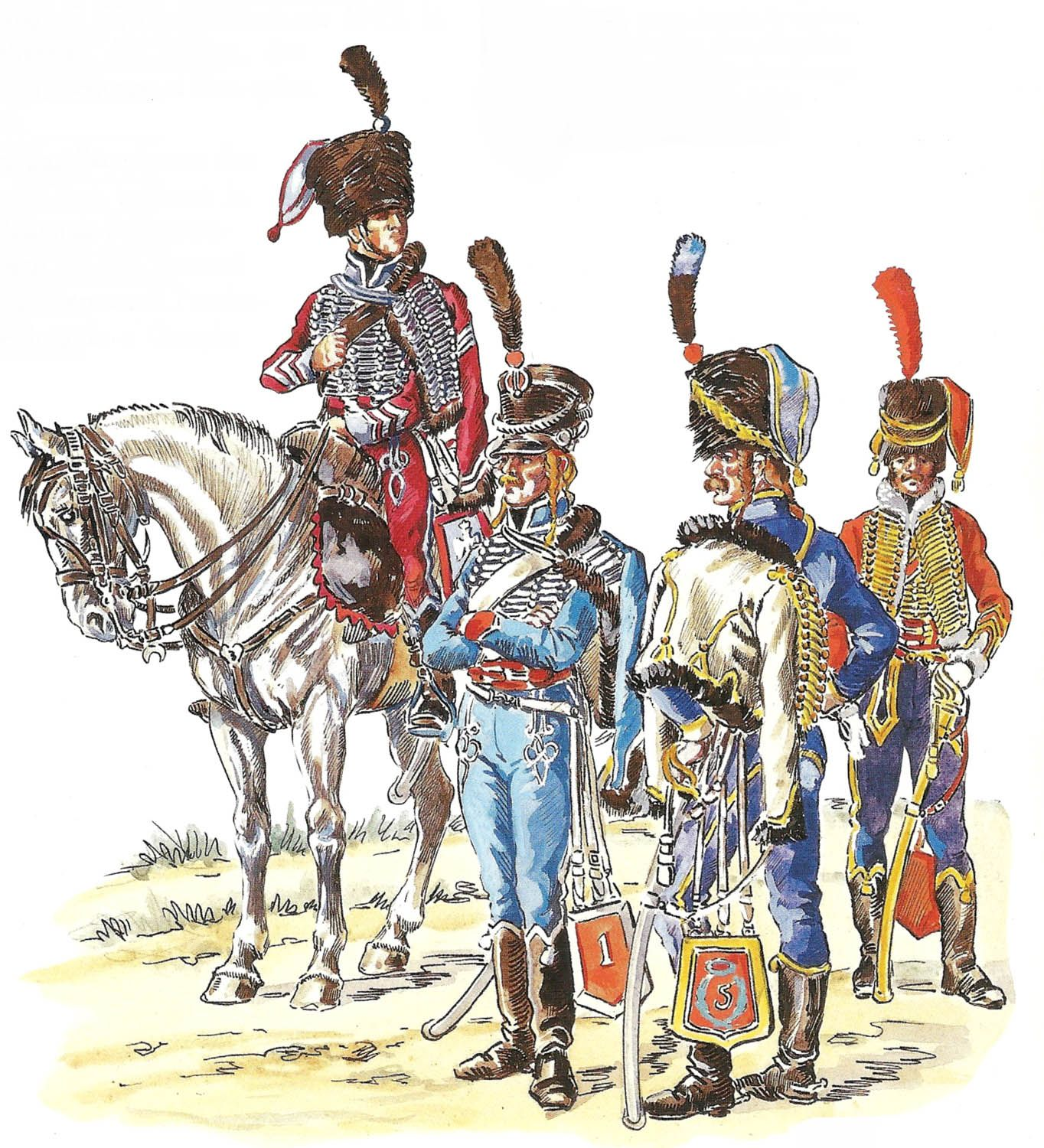 Pin On Napoleonic Light Cavalry