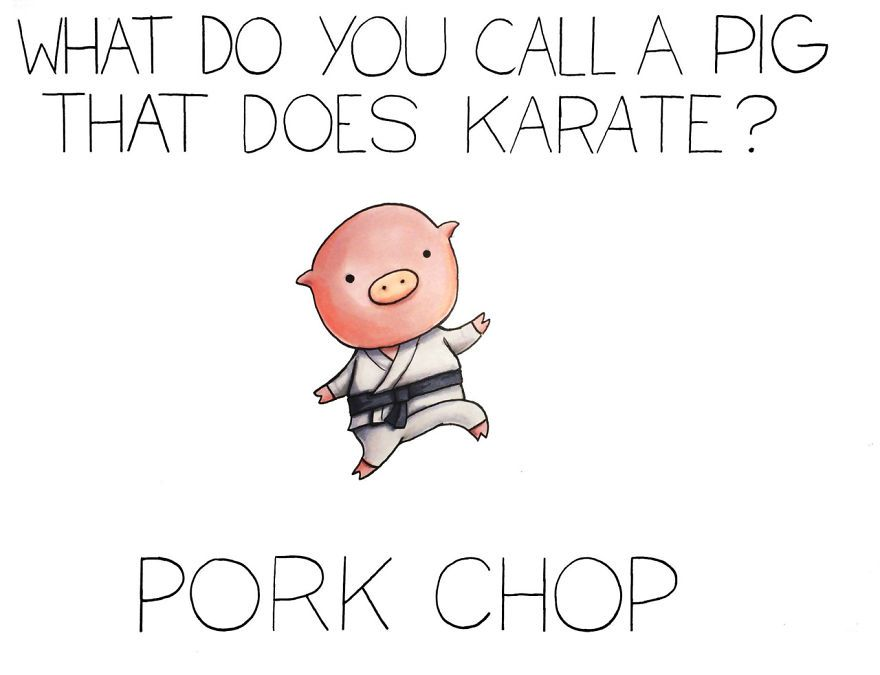 Pork chop joke