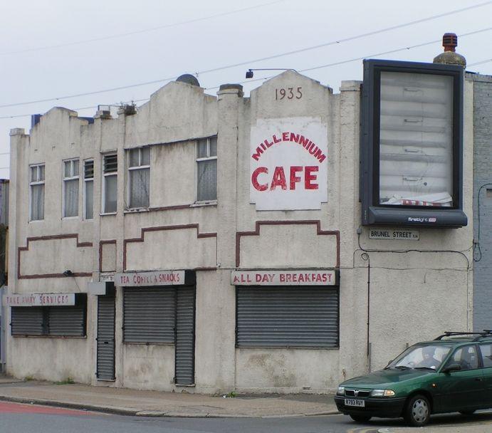 Derelict, Derelict Buildings