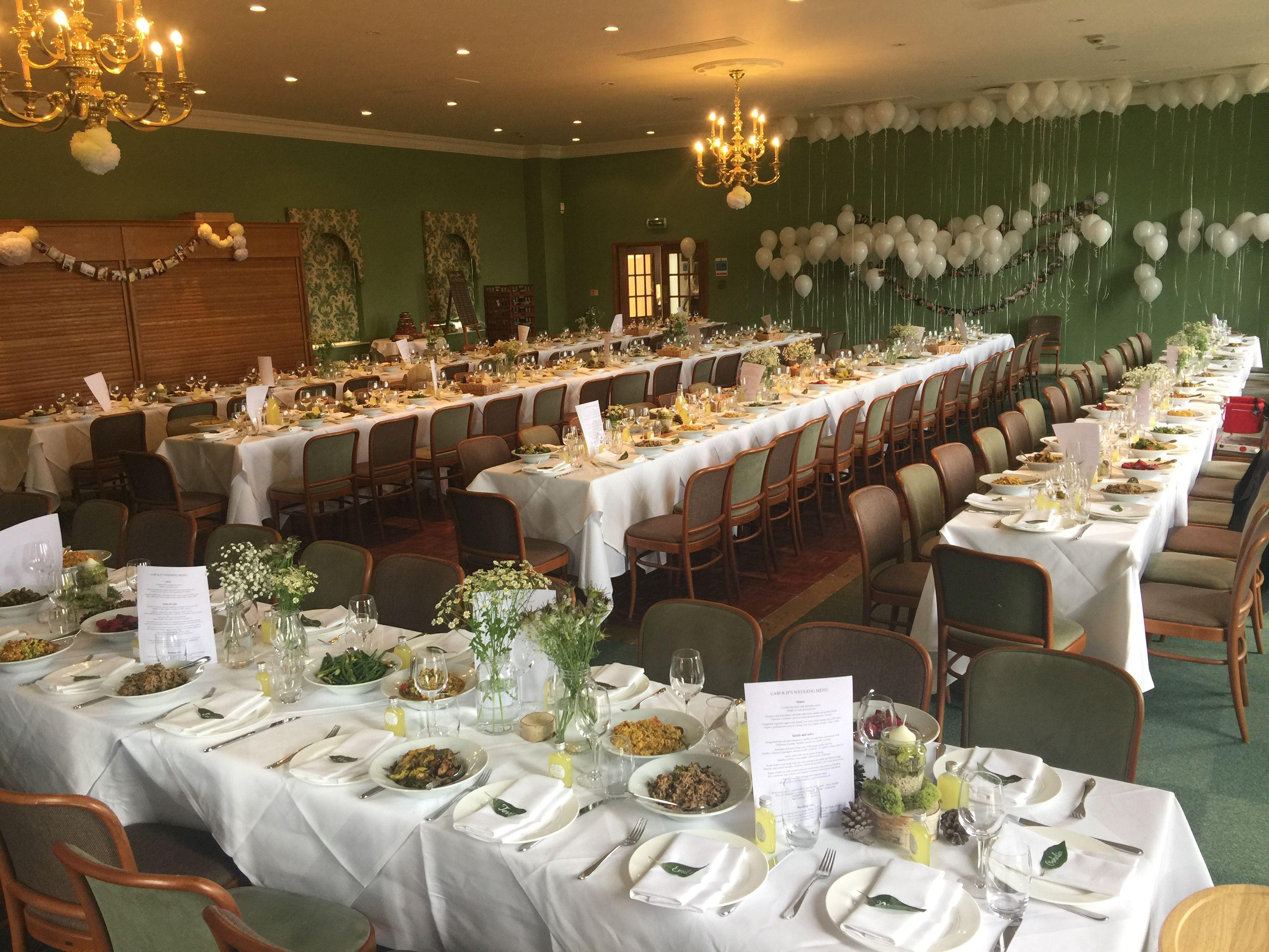 Stunning Banquet Style Wedding Breakfast