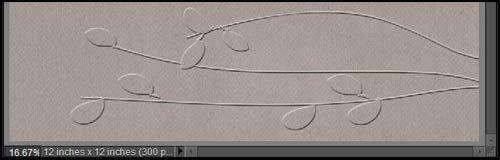 Embossed paper tutorial.