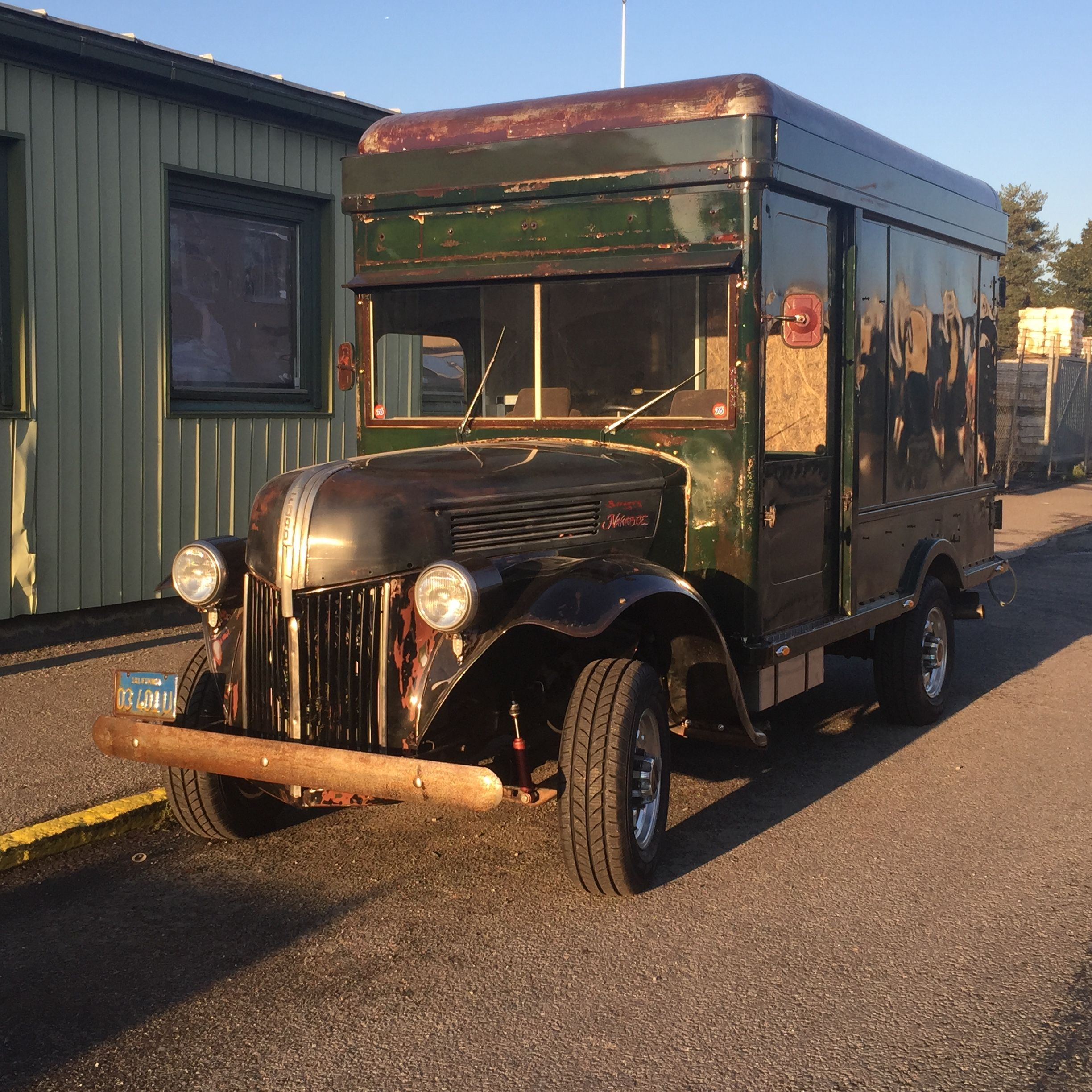 Se Car Agency >> Foodtruck Ford 1941 Former Railway Express Agency Now Food