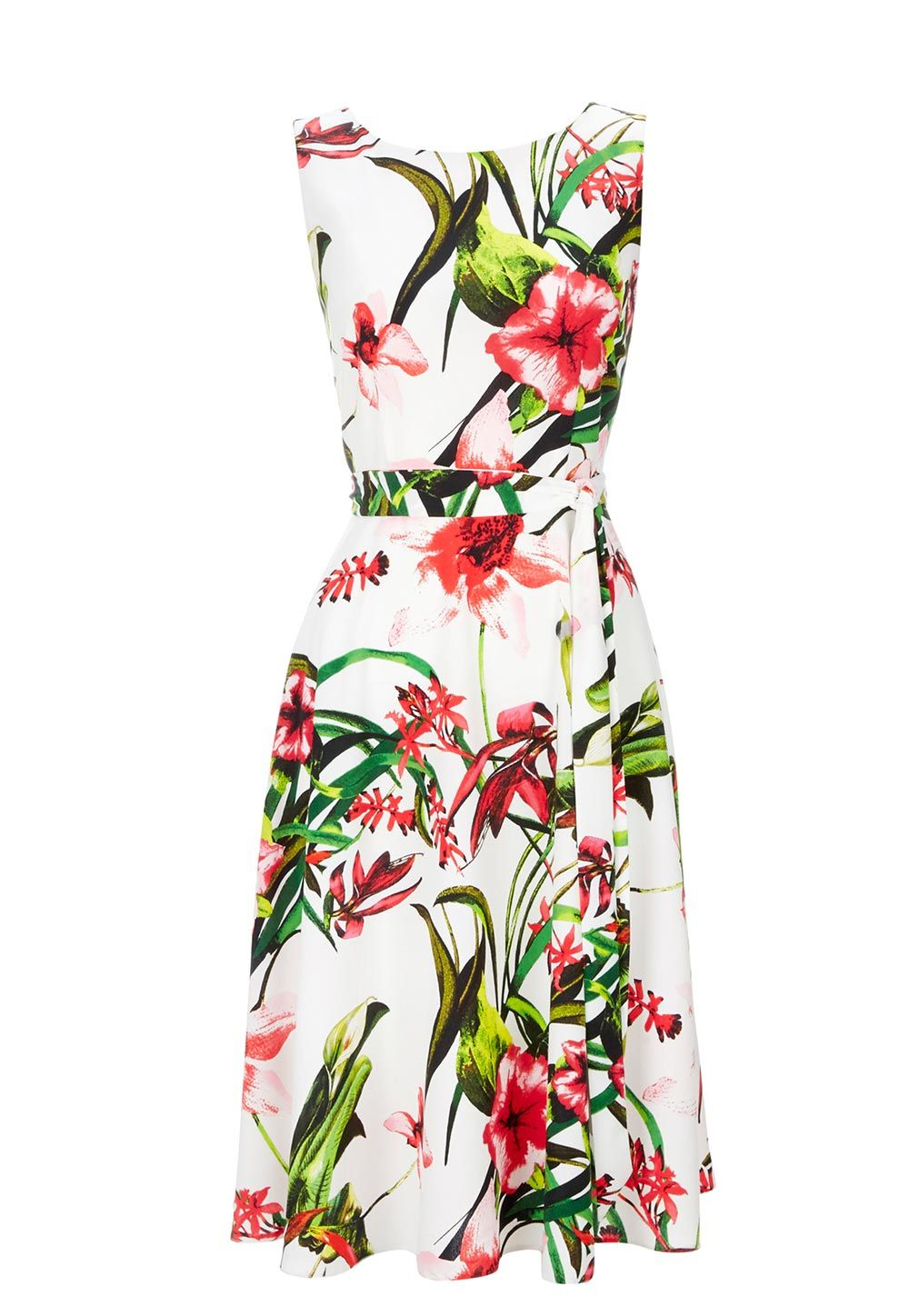 Floral Summer Wedding Guest Dress  Things To Wear