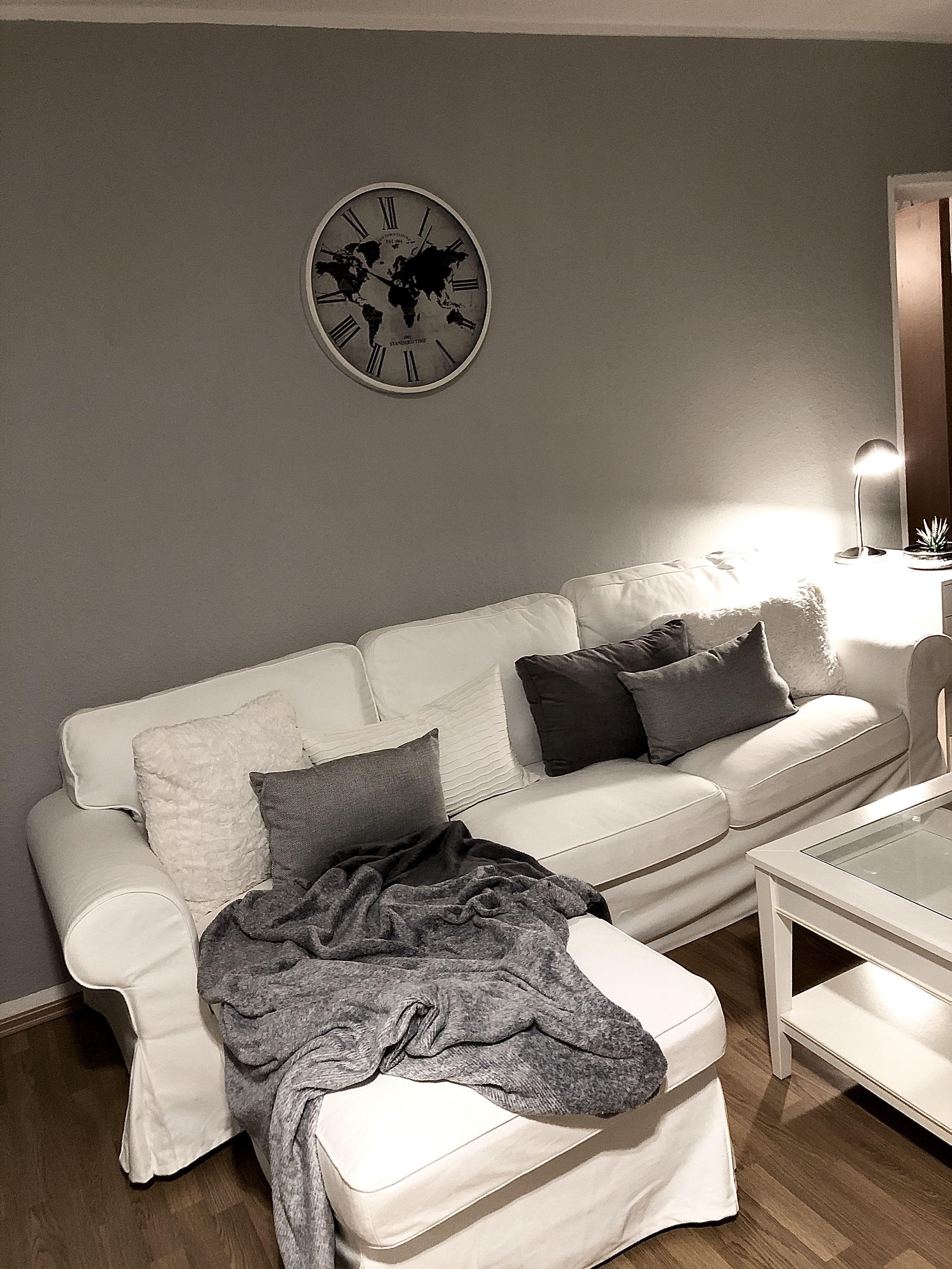livingroom white gray  Wohnen, Heim, Haus