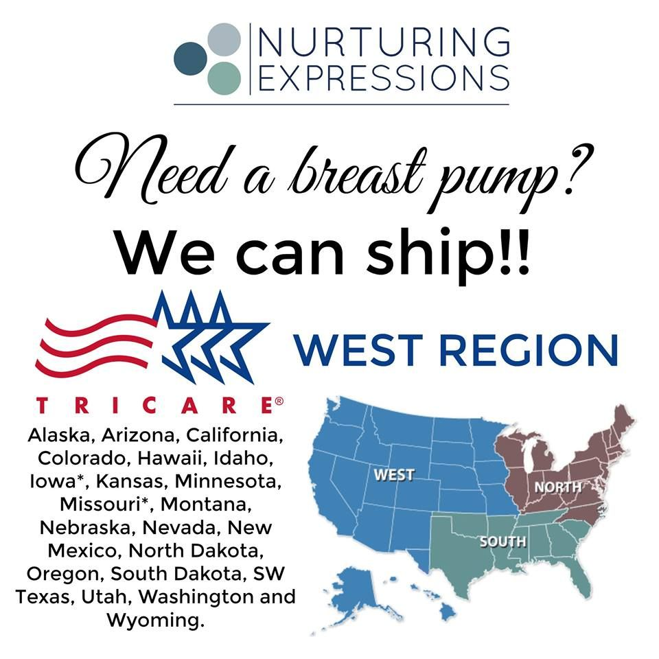 Need A Breast Pump Or Accessories In The Tricare West Region We