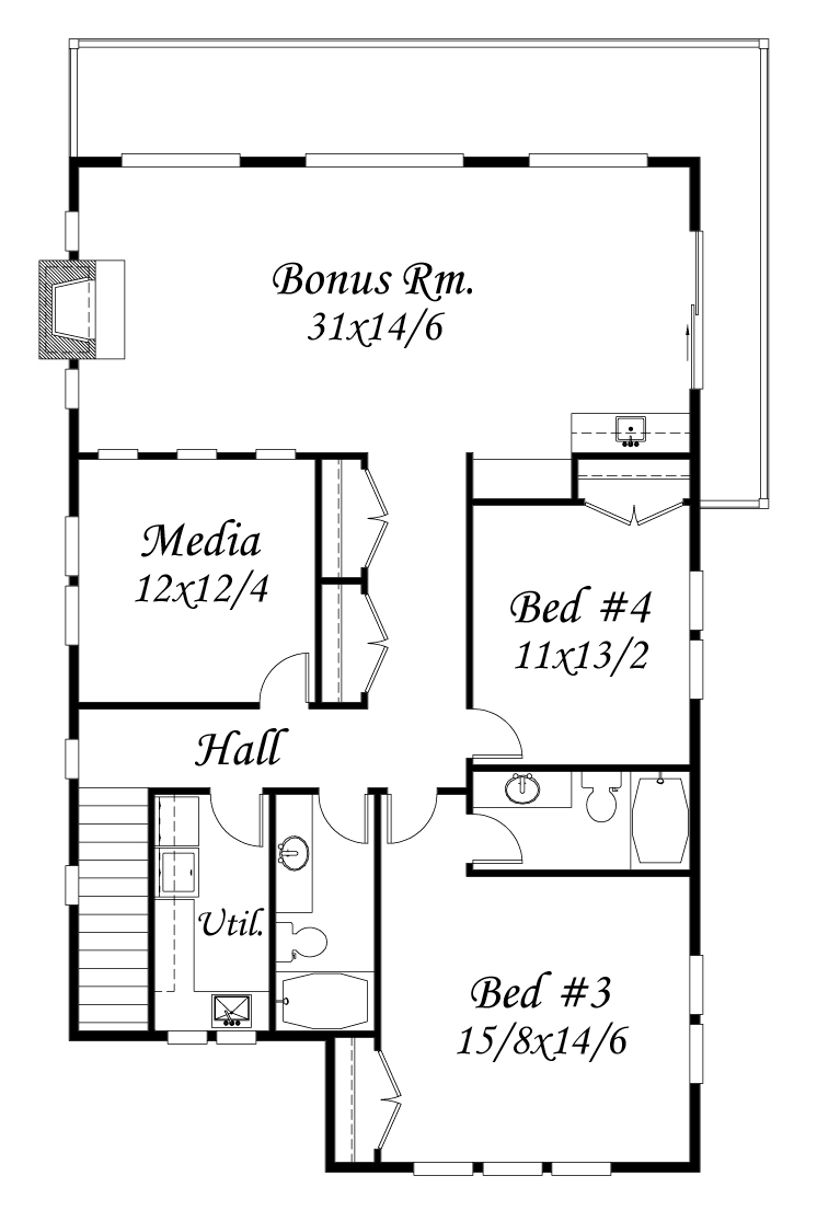 M 3999 House Plan Cottage Style House Plans Vacation House