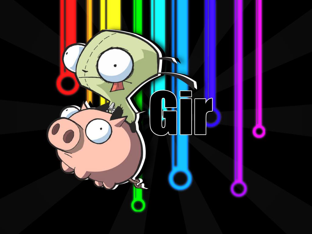 Gir Wallpapers Girly Invader Zim Cartoon Net