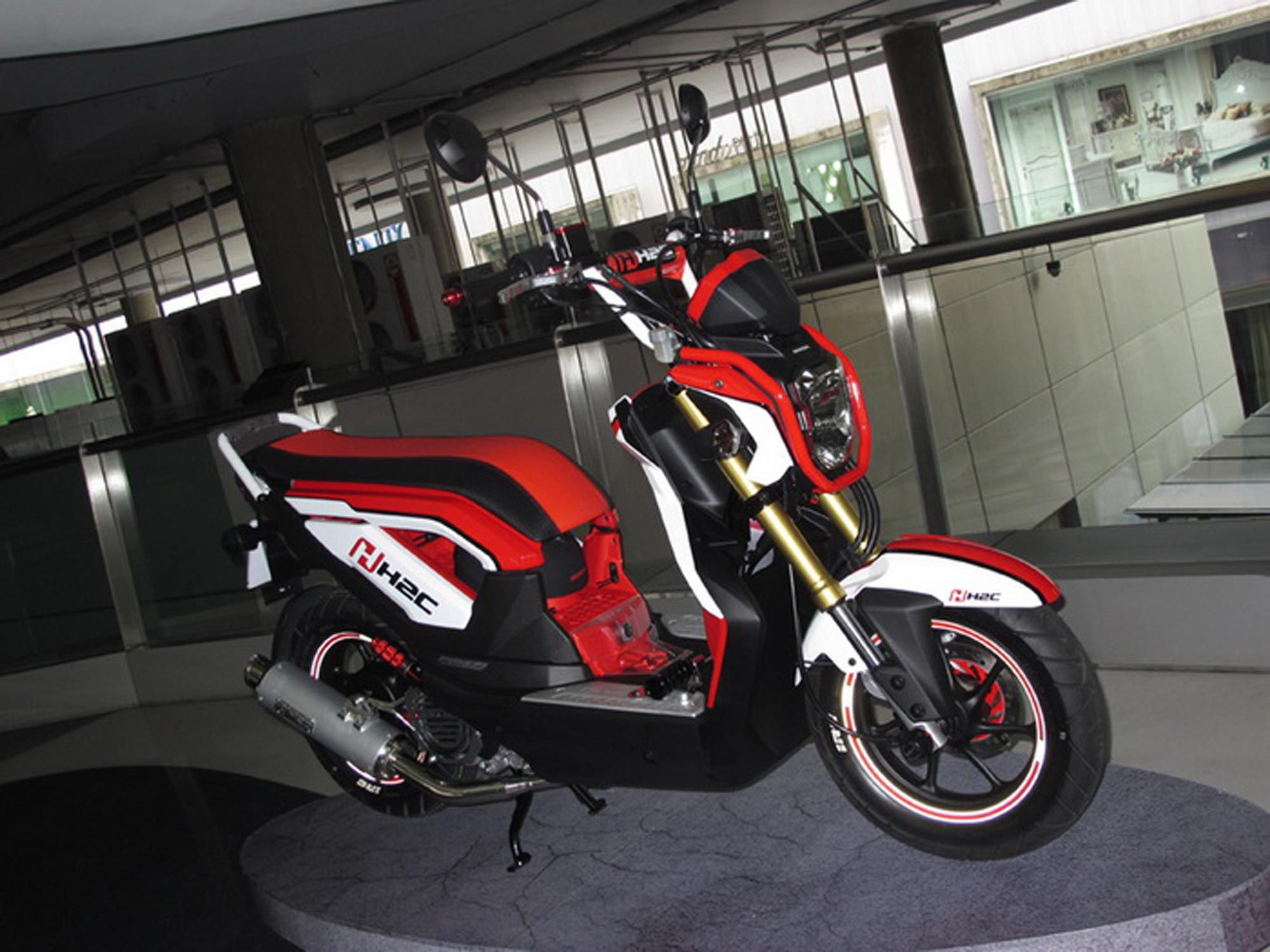 2013 Honda Zoomer X Thailand Review And Modification 2013 Honda Honda Honda Motors