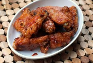 Honey Barbecue Wings - Photo and Recipe: Diana Rattray