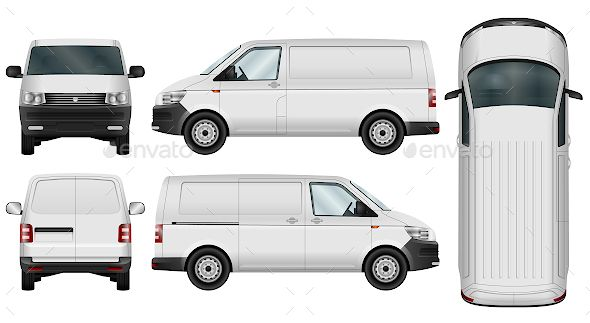 b2ff84f93e6c Minivan Template. Minivan Template Car Vector ...