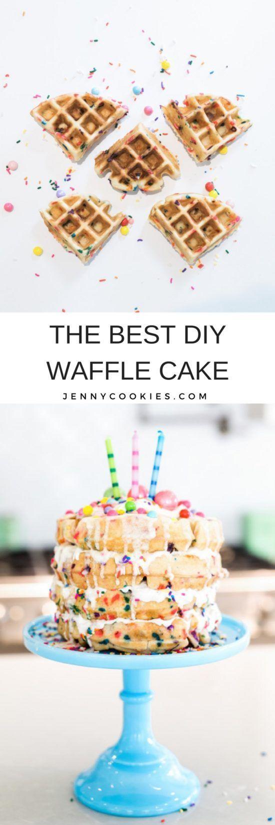How To Make A Waffle Cake Diy Waffle Cake Unique Cake Recipes