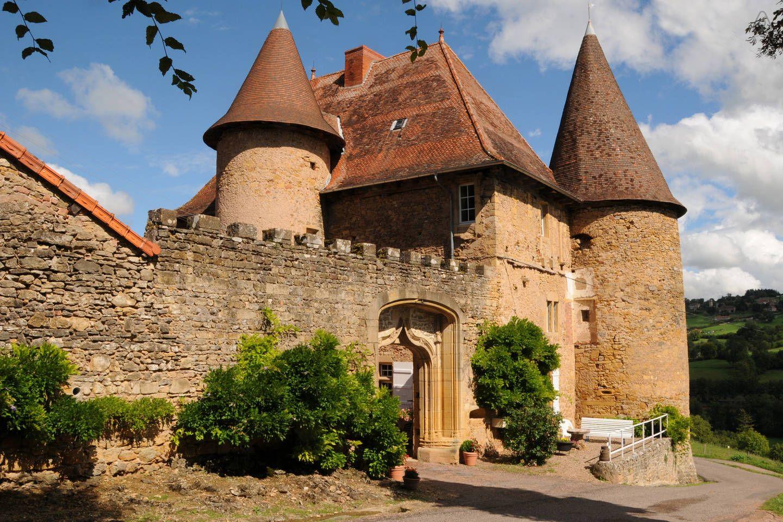 Château de Barnay in Burgundy, France