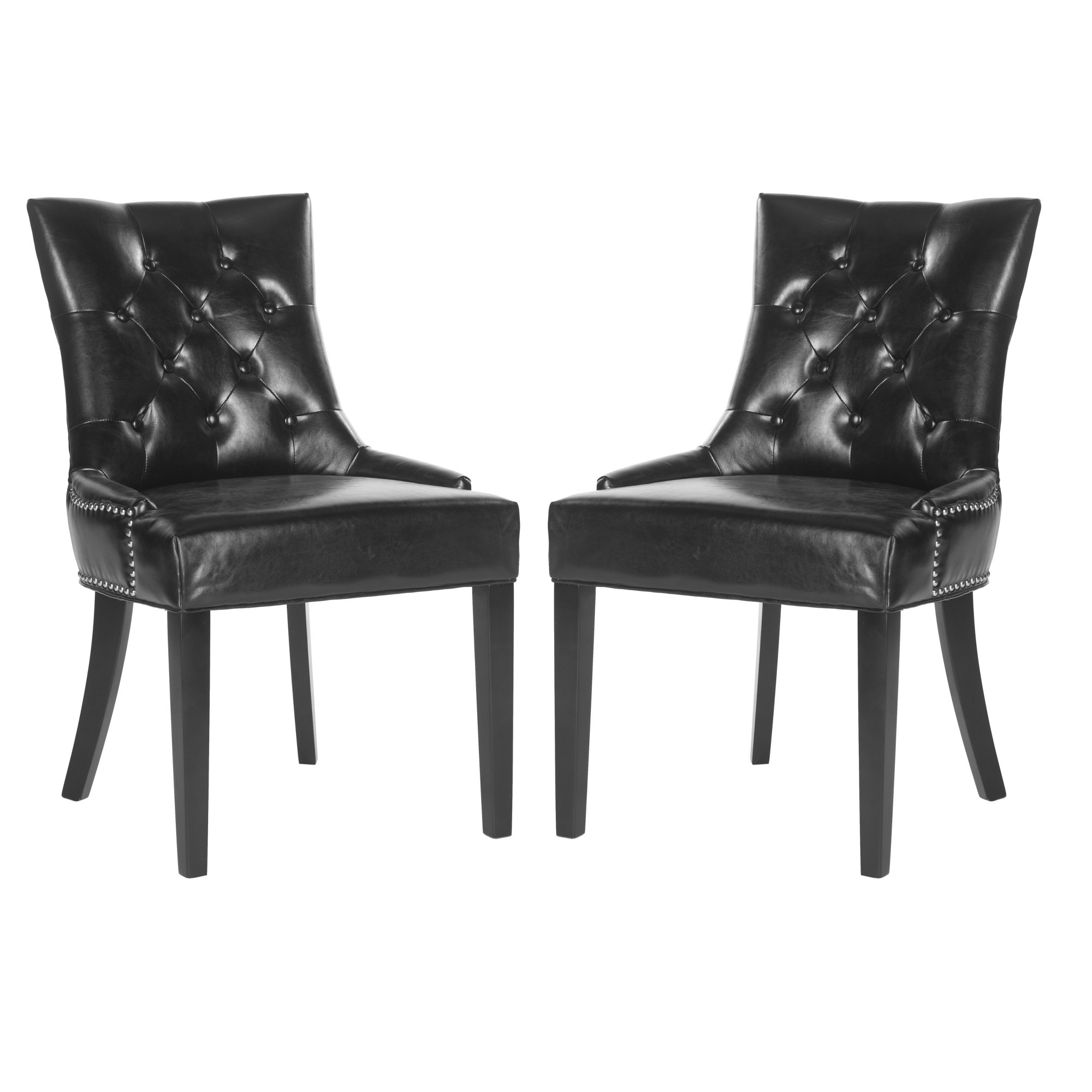 Harlow Dining Chair (Set Of 2) - Safavieh , Black